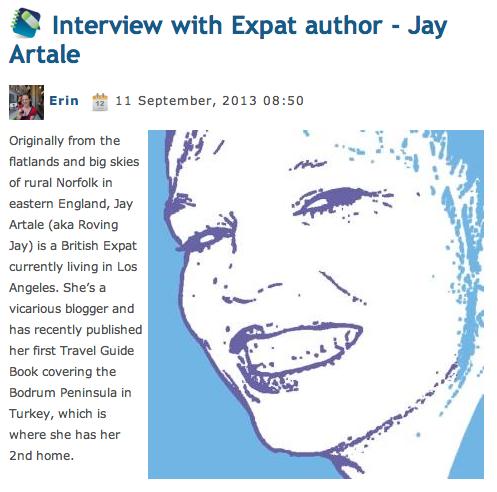 Blog Expat Author Article