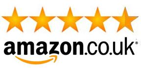 Amazon.co.uk 5 Star Logo