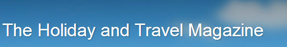 Holiday and Travel Magazine Header
