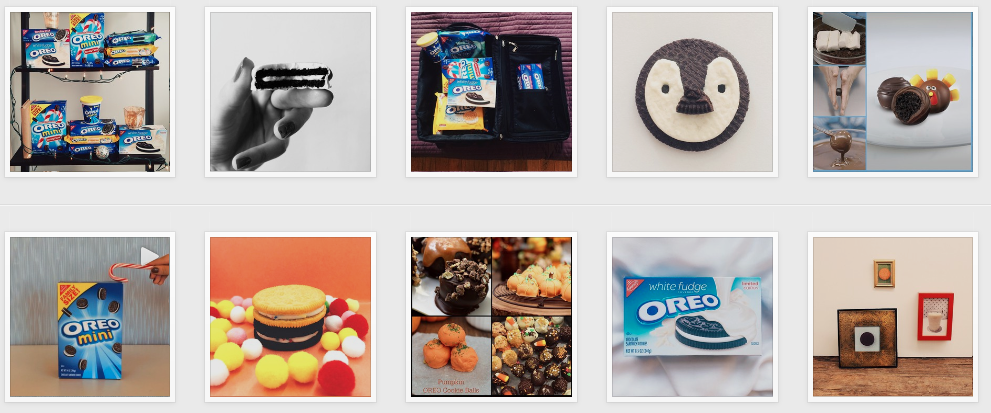 Oreo Instagram Images