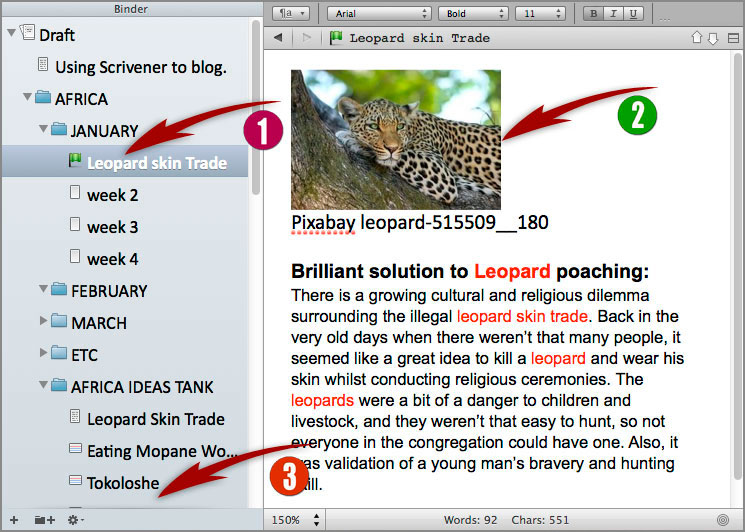 Karen Prince Scrivener Software Screen Shot for Jay Artale Article