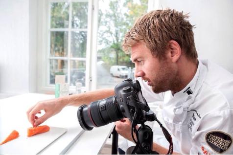 Norwegian Salmon Photo Shoot on Instagram