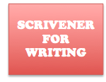 Scrivener for writing Header on Jay Artale