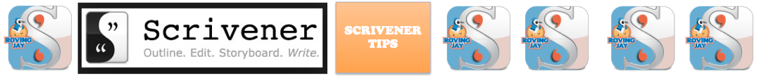 Scrivener Tips Header on Jay Artale