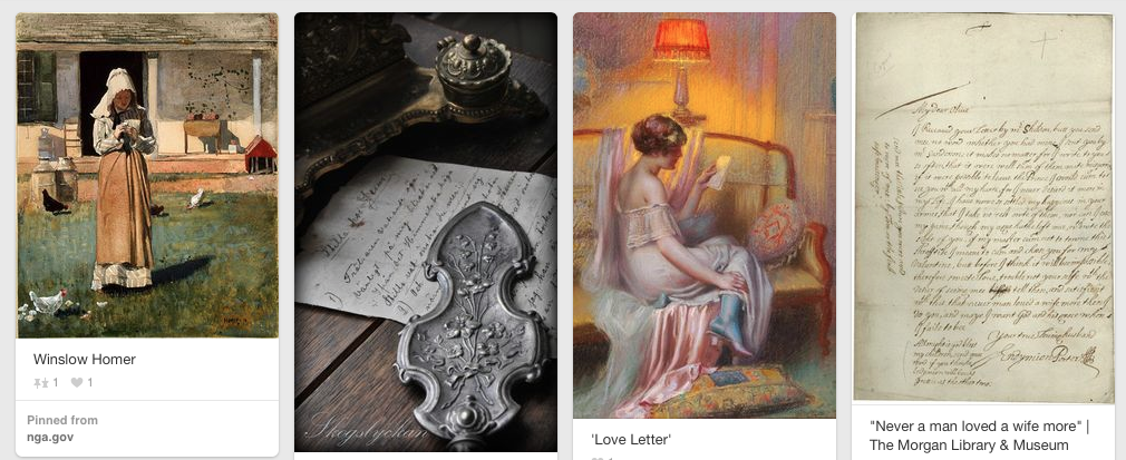 Laura Frantz Pinterest Letters a  Lost Art Social Media by Jay Artale