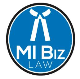 MI Biz Law Logo