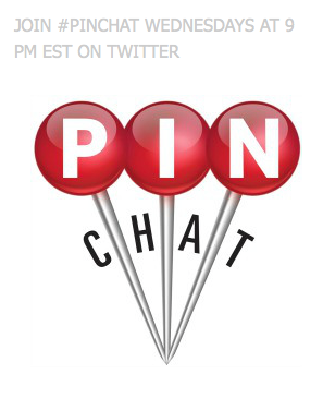 #Pinchat Weekly Pinterest Twitter chat