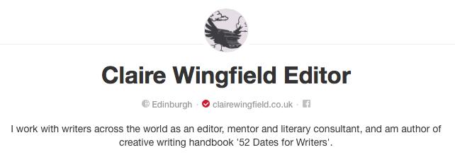 Claire Wingfield Pinterest Board