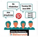Bibliocrunch #IndieChat Ad