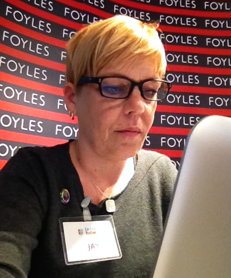 Jay Live Tweeting at IndieReCon Foyles London