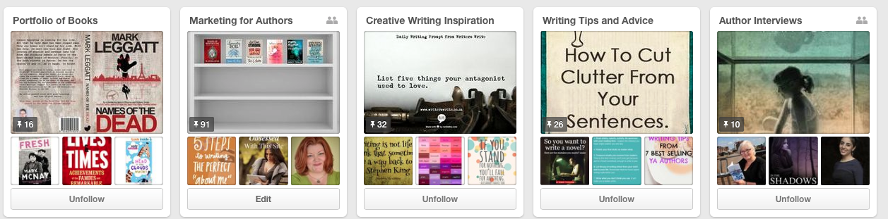 Claire Wingfield Pinterest Boards
