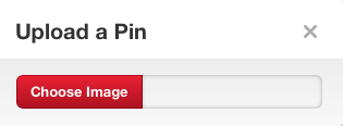 Upload a Pin to Pinterest