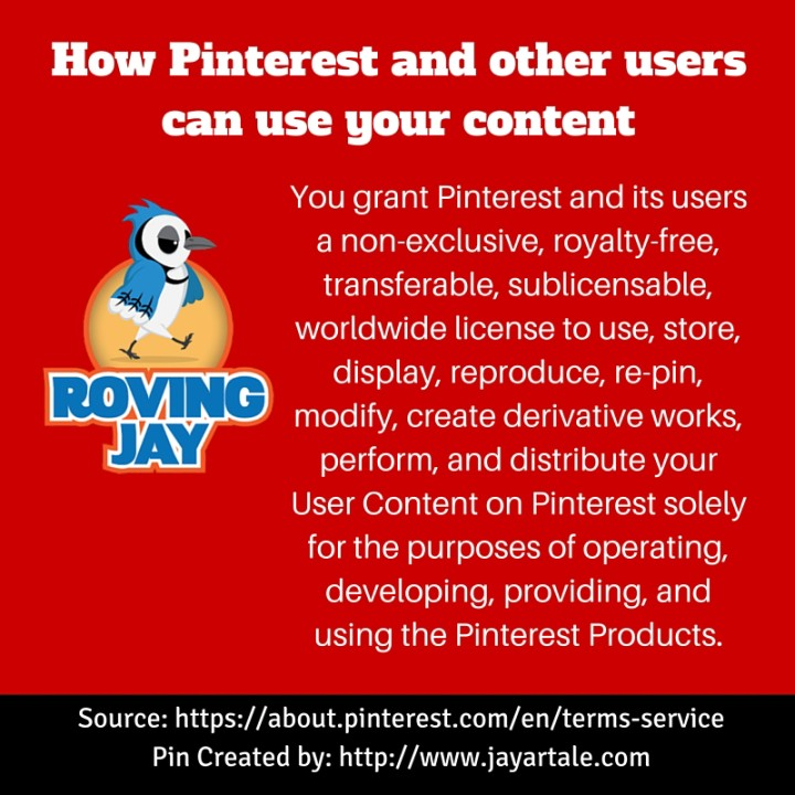 How Pinterest and other users can use your content Jay Artale