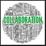 Collaboration Wordle Tag Cloud Writers Collective