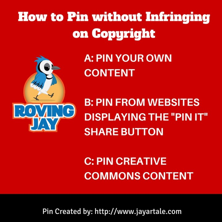 How to pin content without infringing on copyright Jay Artale www.jayartale.com
