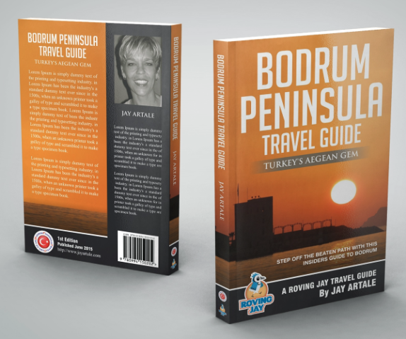 Bodrum Peninsula Travel Guide paperback version cover