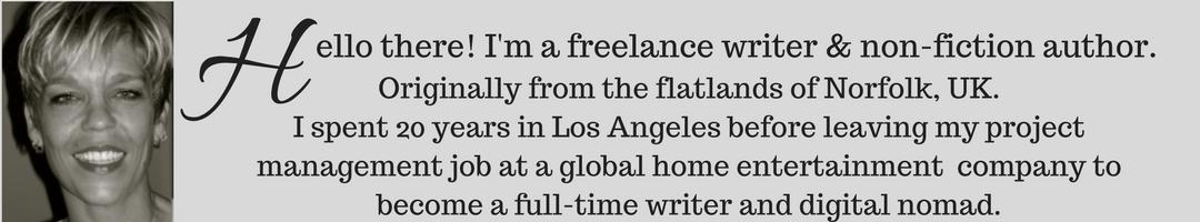 Freelance writer and digital nomad