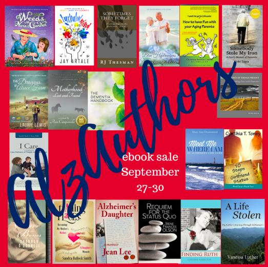 AlzAuthors ebooks in the promotion