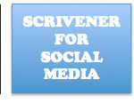 Scrivener for Social Media Header on Jay Artale
