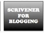 Scrivener for Blogging Header