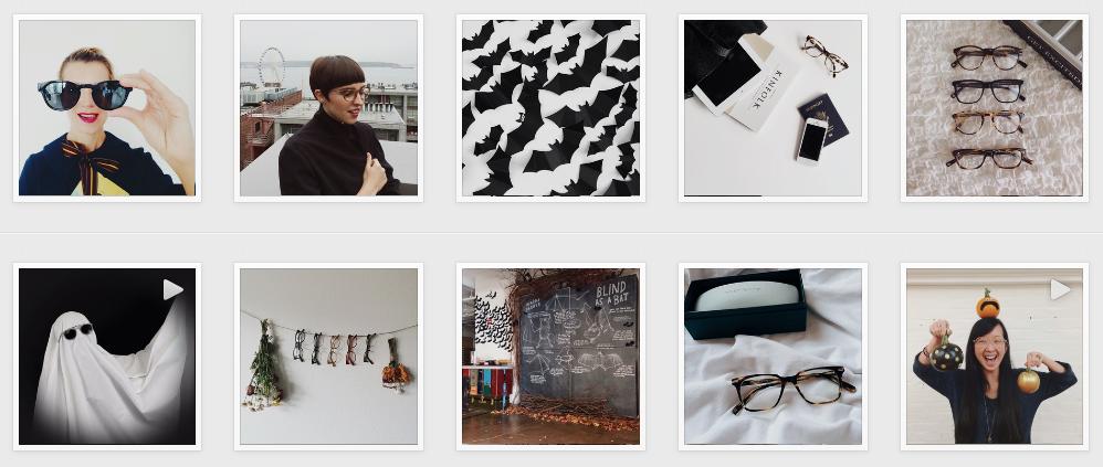 Warbyparker on instagram