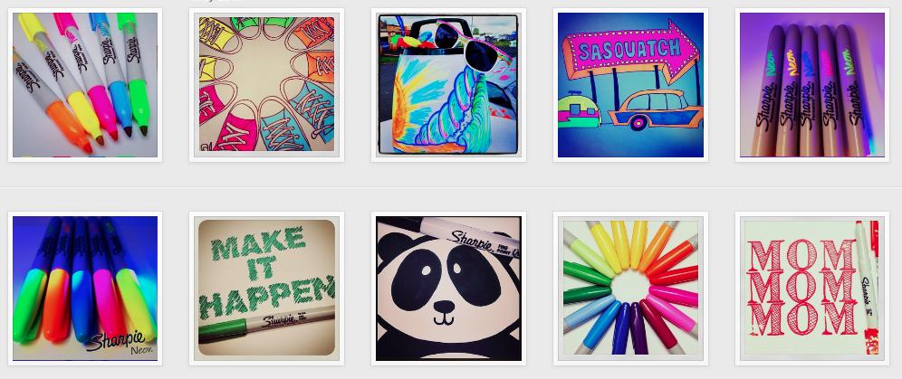 Sharpie on Instagram