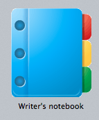 Writer's Notebook Scrivener Template Icon