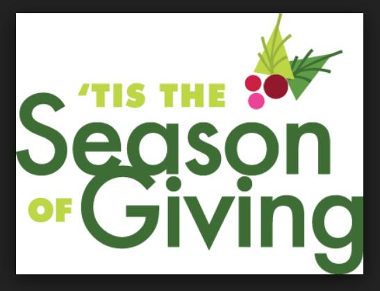 Tis the season of giving icon