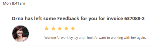 Orna PPH Blog Content Feedback for content by Jay Artale