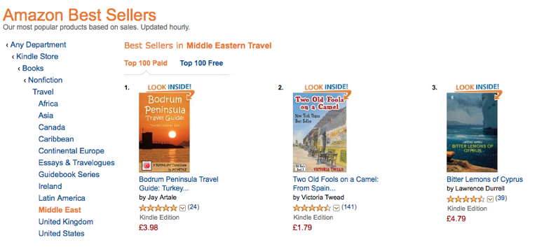Bodrum Peninsula Travel Guide Amazon #1 Best Seller Jay Artale