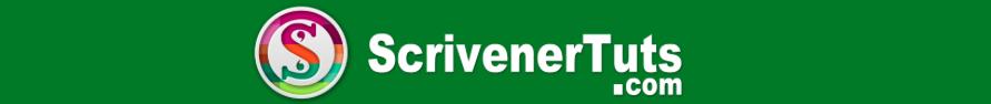 ScrivenerTuts Logo Tutorials