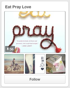 Elizabeth Gilbert Pinterest Eat Pray Love Social Media Jay