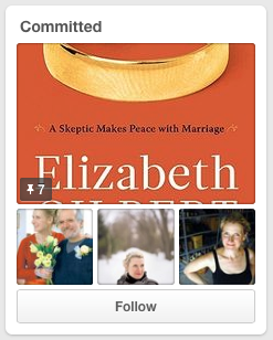 Elizabeth Gilbert Pinterest Committed Board jay Artale Social Media