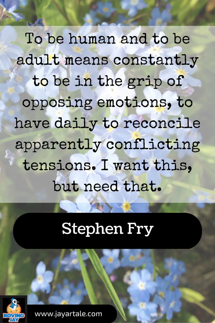 Stephen Fry Quotes for Pinterest created by Jay Artale. Images photographed locally in Norfolk UK. I get an urge, like a pregnant elephant. Book Quote for Authors