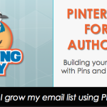 Pinterest for Authors How to Grow my mailing list