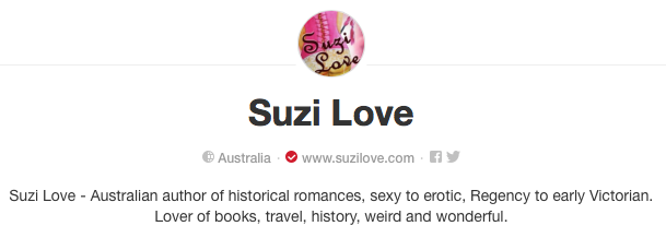 Suzi Love Pinterest Board