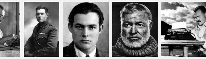 Ernest Hemingway Image for Pinterest Quotes by Jay Artale