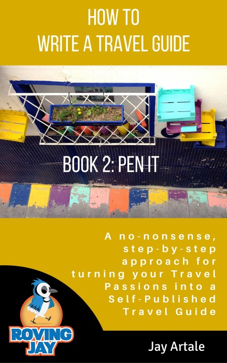How to Write a Travel Guide Jay Artale Book 2 Pen it