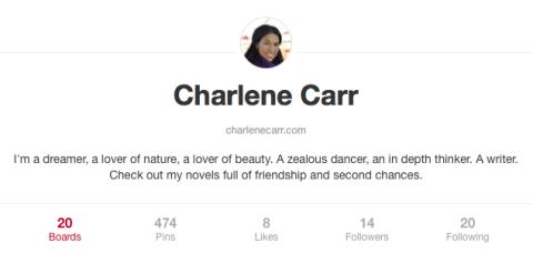 Charlene Carr Pinterest Profile