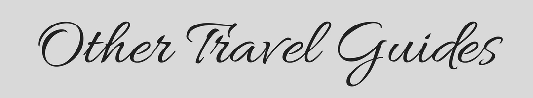 Other Travel Guides Banner
