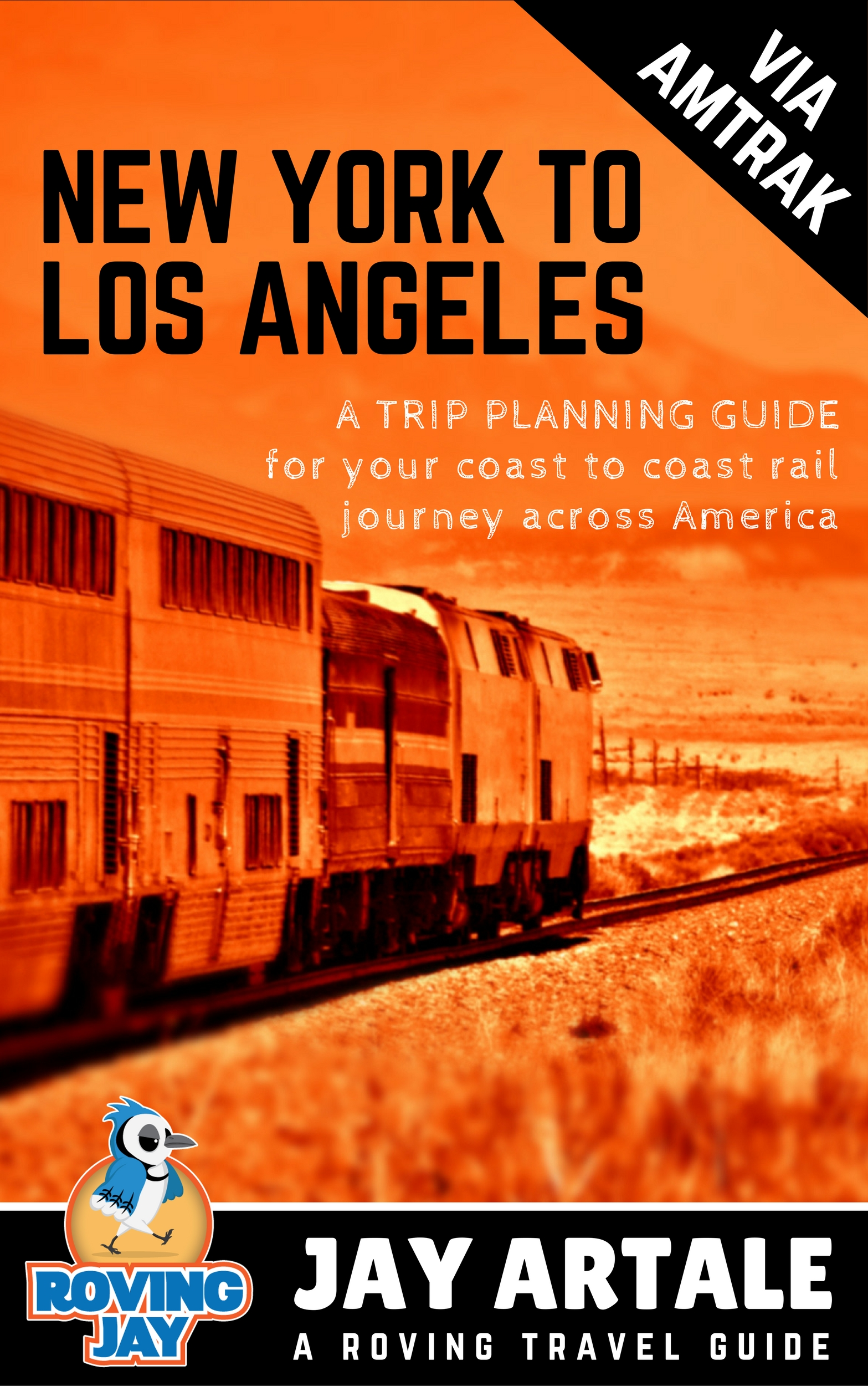 New York to Los Angeles Trip Planning ebook
