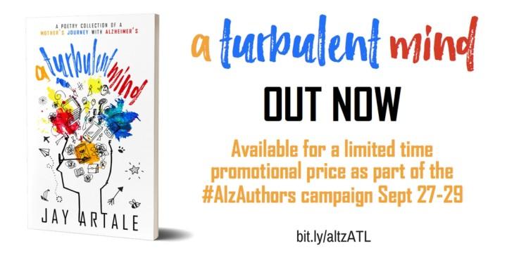 A Turbulent Mind #AlzAuthors Promo
